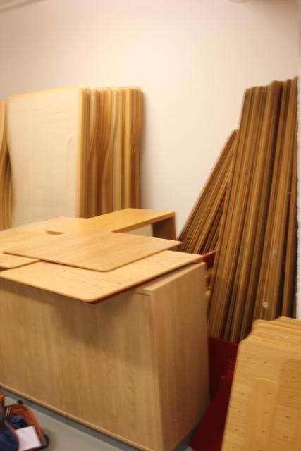 Materialet, Vinnovas gamla skrivbordsskärmar